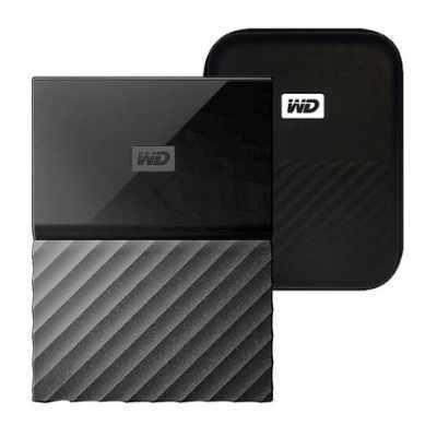 외장하드 추천 - WD My Passport 휴대용 + 파우치, 4TB
